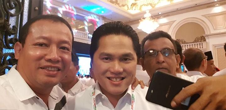 Bambang Suwondo Bersama Tim Kampanye Jokowi-Maruf Kota Tangerang Hadiri Rakernas di Surabaya