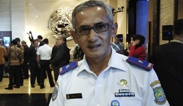 kepala dinas perhubungan kota tangerang saeful rohman
