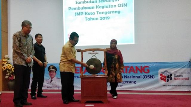 Dinas Pendidikan Kota Tangerang Selenggarakan Lomba OSN Tahun 2019_ (1)