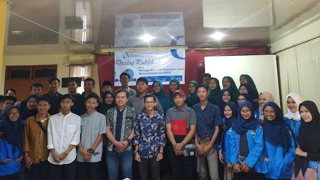 Dialog PMII Banten Antisipasi Isu SARA Pasca Pemilu 2019