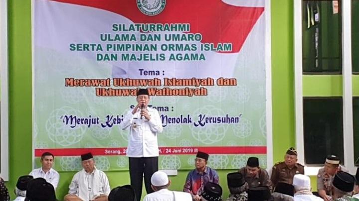 Gubernur Provinsi Banten, H. Wahidin Halim
