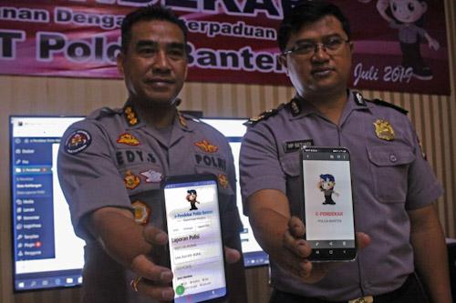 Polda Banten Perkenalkan Aplikasi e-Pendekar