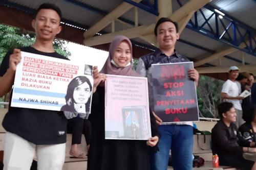 Pegiat Literasi Tangerang Menolak Penyitaan dan Pemberangusan Buku