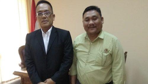 Bertemu Rektor IPDN, Badiamin Sinaga