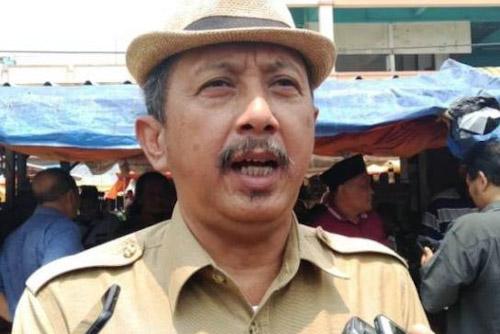 Kepala Dinas Perindustrian, Perdagangan dan Koperasi (Disperdaginkop) Yoyo Wicaksono