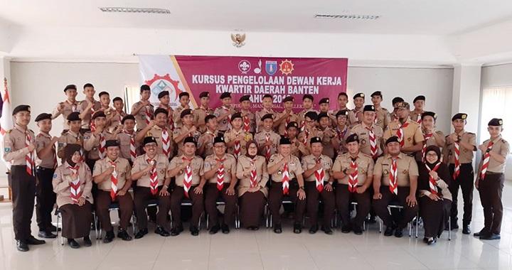 Foto Dewan Kerja Pramuka Banten Ikuti Kursus KPDK3