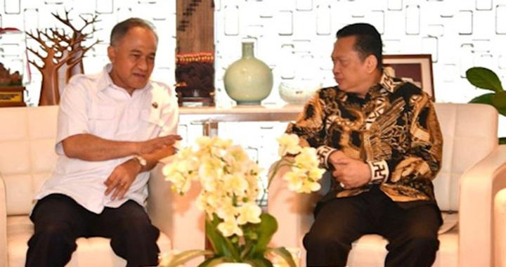 Heru Winarko dan Bambang Soesatyo