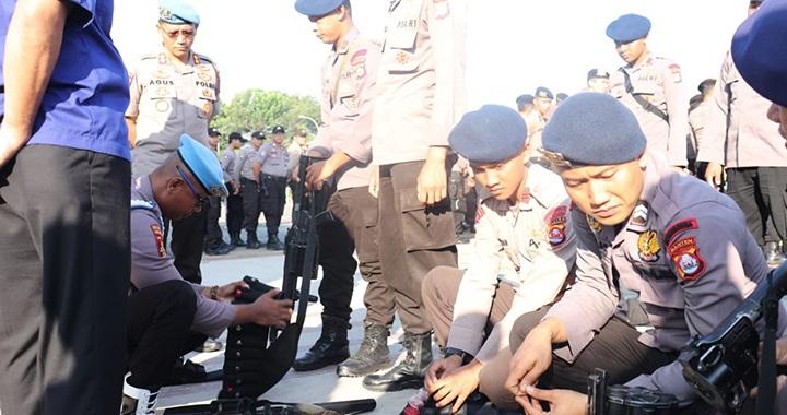 Anggota Provost Polda Banten
