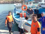 Diri Polairud Polda Banten lakukan pencarian di Selat Sunda
