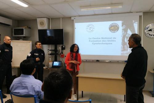 Lawatan ke Perancis, BNN RI Kunjungi Pusat Pelatihan K-9