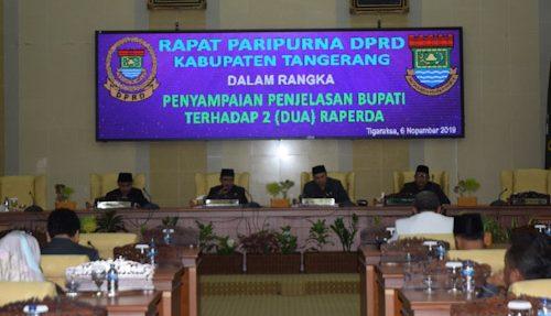 Pemkab Tangerang Usulkan Raperda Sistem Elektronik Pemerintah