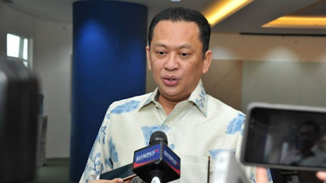 Ketua MPR RI Bambang Soesatyo1