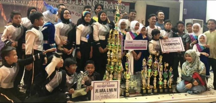 Bahana Citra Islami Pertahankan Juara Competition Marching CAT 3