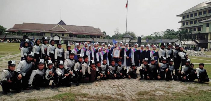 Bahana Citra Islami Pertahankan Juara Competition Marching CAT2