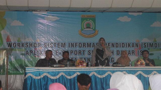 e-Raport Segera Diterapkan di Sekolah Kota Tangerang