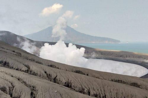 Aktivitas Gunung Anak Krakatau Lampung1