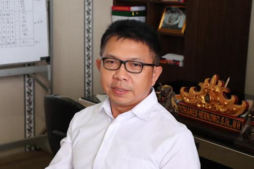 Dirnarkoba Polda Banten Kombes Pol Yohanes Hernowo