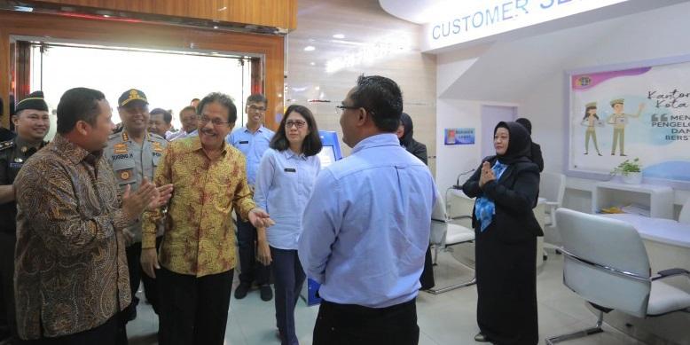 Arief Launching Loket Online BPN Kota Tangerang 1