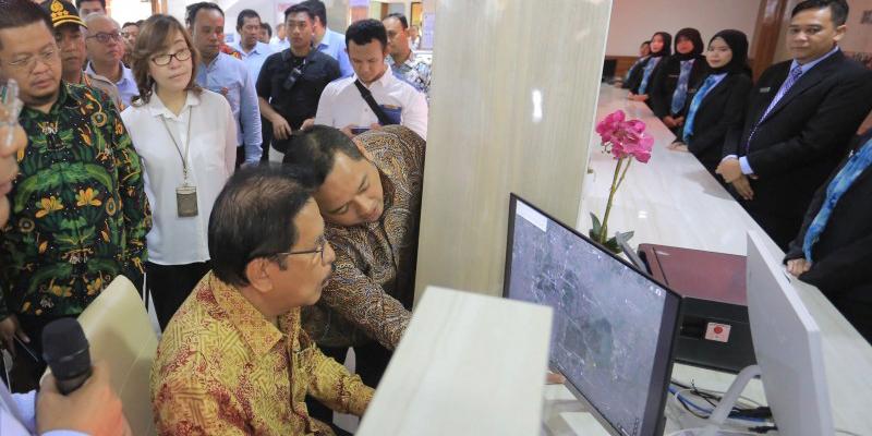 Arief Launching Loket Online BPN Kota Tangerang 2