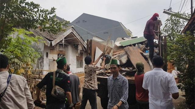 pasca banjir perumahan benua