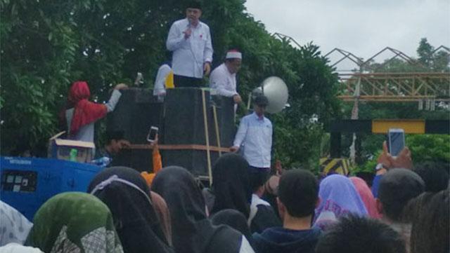 demo Santri Pondok Pesantren Al-Hasaniyah