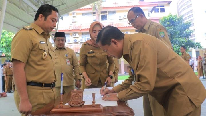 Foto Sekda Kota Tangerang Dijabat Herman Suwarman