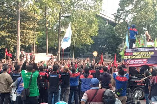 Aliansi Buruh Banten Bersatu Nilai Omnibus Law Jauh dari Pancasila