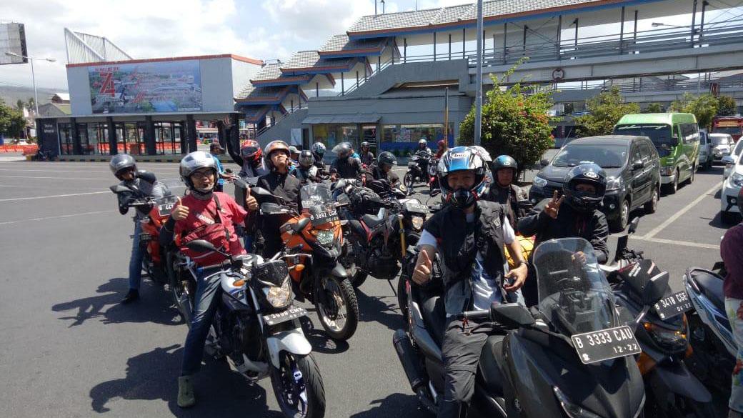 17Touring Gas Tangerang Menuju Bali