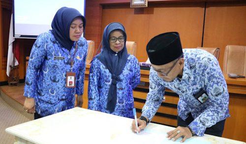Diskominfo Kabupaten Tangerang Sertijab Eselon IV