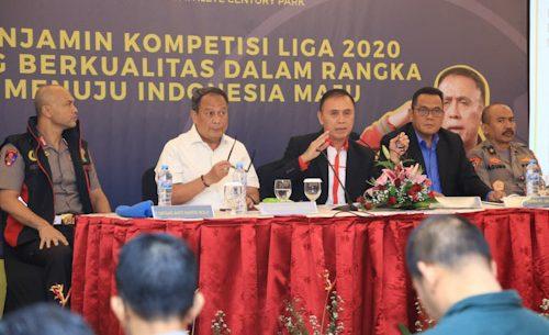 Kompetisi Liga Indonesia Baru 2020 Bakal Dikawal Ketat Satgas Mafia Bola