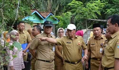 Sekda Kabupaten Tangerang Tinjau Kesiapan Kunjungan Ibu Negara ke Desa Kohod
