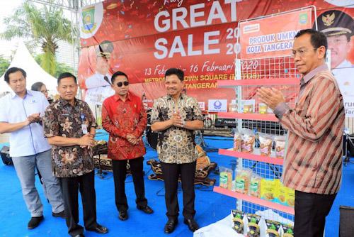 'Tangerang Great Sale' Diskon Hingga 50 Persen