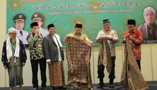 Dihadiri Walikota Tangerang, Musda V FSPP Pilih KH. Mulyadi Jadi Ketua