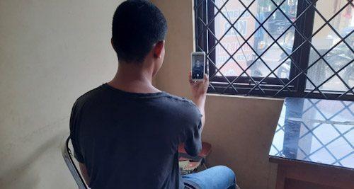 Selama KLB Covid-19, Tahanan Gunakan VC Komunikasi ke Keluarga
