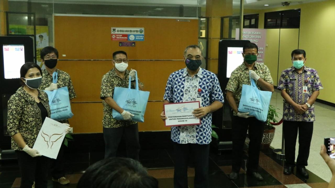 Yayasan Budha Tzu Chi Bantu Pemkab Tangerang 800 Paket Sembako