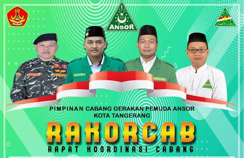 Gunakan Video Confrence, GP Ansor Kota Tangerang Bentuk Gugus Tugas Covid-19