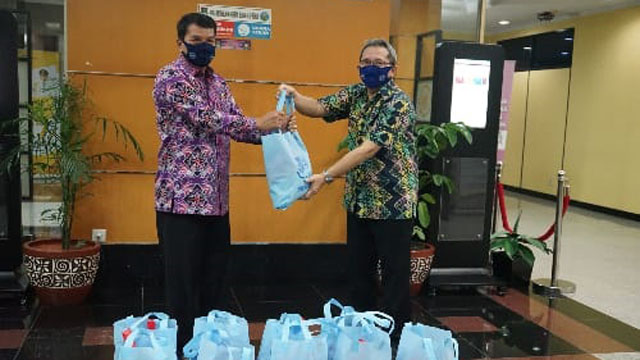 BNK Kabupaten Tangerang Sumbang 900 Paket Sembako