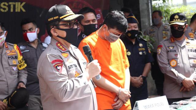 Bareskrim Polri Ungkap Kasus Narkoba Modus Ekspedisi Sembako di Tengah Pandemi Corona