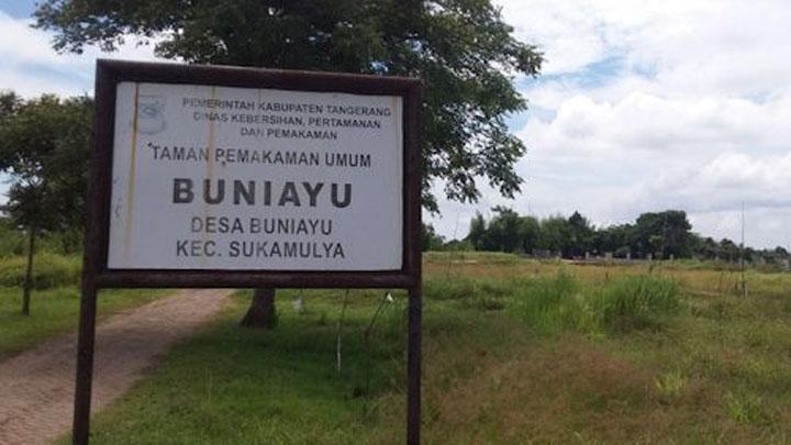 Pemkab Tangerang Siapkan Lahan 3000 Meter Korban Covid-19