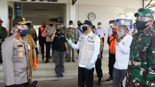 Polda Banten Terjunkan 585 Personel TNI-Polri Kawal Penerapan New Normal