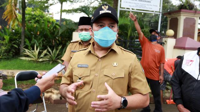 Wali Kota Arief Ancam Tutup Operasional Mall CBD Ciledug