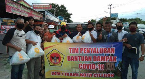 IKAMI/IKM Kota Cilegon Peduli Dampak Covid-19 Salurkan Paket Sembako