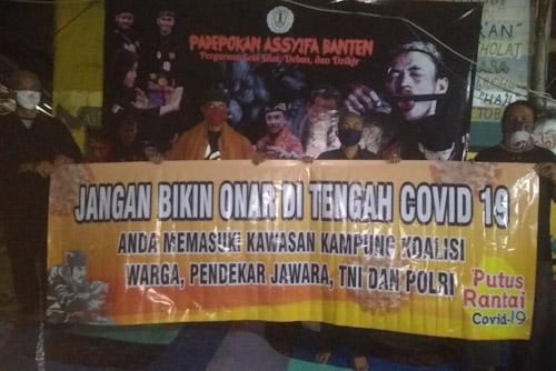 Warga Pendekar Jawara Ajak Masyarakat Jaga Kamtibmas
