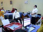 Ditinjau Walikota Arief, PPDB SMP Negeri 2 Lancar