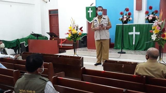 Ikuti Protokol Kesehatan Covid-19, Gereja HKBP Citra Raya Dibuka untuk Ibadah
