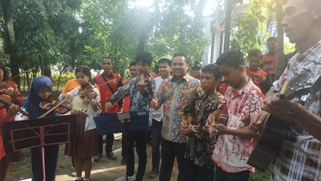 Komunitas Biola Tangerang, Kampanyekan Lagi Lagu Daerah dan Nasional