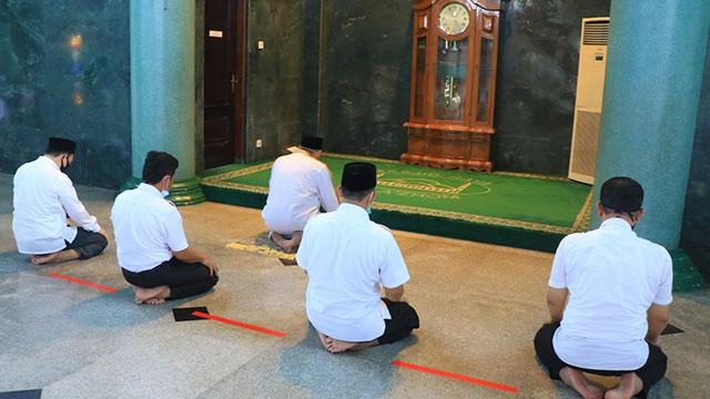 Masjid Raya Al Azhom Kota Tangerang Resmi Dibuka Kembali