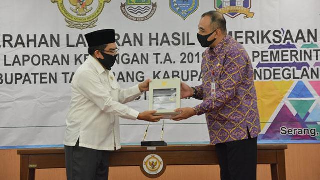 Pemkab Tangerang Raih Opini WTP ke-12 Kali