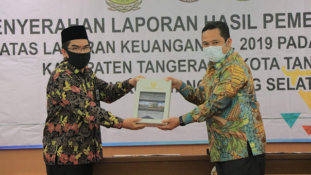 Pemkot Tangerang Raih Opini WTP ke-13