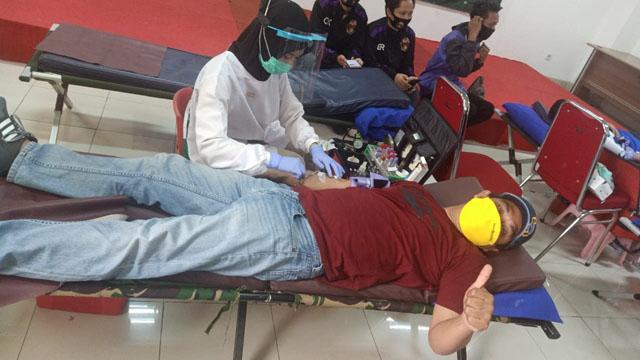 Stok Darah PMI Bertambah dari Donor Atlet dan Pengurus KONI